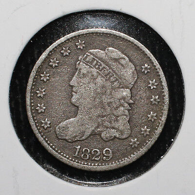 1829 Capped Bust Half Dime - 02217