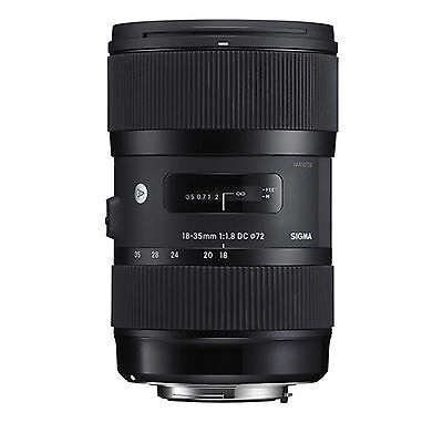 Sigma 18-35mm f/1.8 DC HSM Art Lens (for Canon) w/FREE Hoya NXT+ UV *NEW*