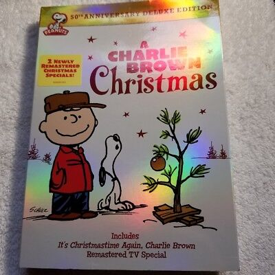 NEW - Charlie Brown Christmas 50th Anniversary, A: Deluxe Edition