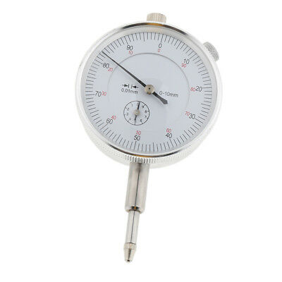 Heavy Duty Dial Test Indicator Gauge Lug Back Metric 0-10mm 0.01mm Accurate