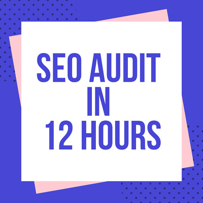 Website Audit On Page SEO Checker - Find SEO Problems Get Data For Analysis 12HR