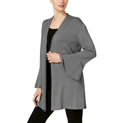 Alfani Womens Knit Open Front Bell Sleeves Cardigan Sweater Top BHFO 5355