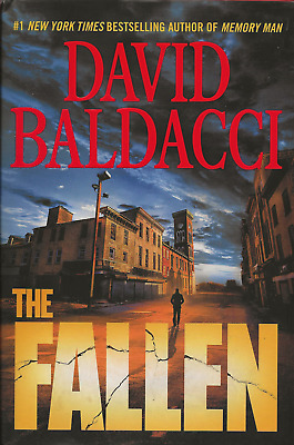 Memory Man: The Fallen  by David Baldacci (2018, Hardcover)  FIRST EDITION