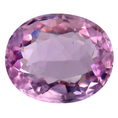 4.28 ct AAA Flashing Oval Shape (11 x 9 mm) Pink Kunzite Natural Gemstone