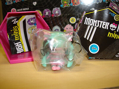 Monster High Doll Minis Pattern Ghouls ROCHELLE GOYLE, Season 1 NEW- Fangtastic