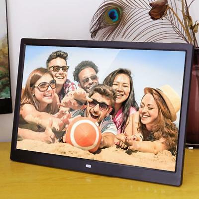 15.4inch HD Digital Photo Frame Electronic Album Picture Video MP4 Movie Player