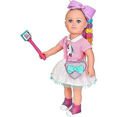 """My Life As 18"""" inch JoJo Siwa Doll, Blonde Hair With Soft Torso Soft Touch"""