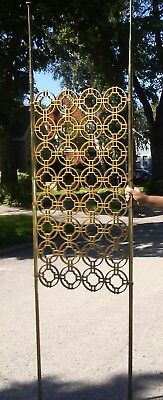Mid century modern room divider. Tension pole Style
