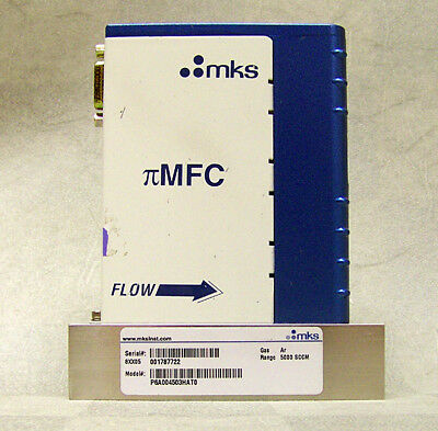 MKS PFC-60 P6A  Mass Flow Controller 5000 SCCM Air MFC