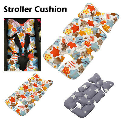 Baby Stroller Safe Pad Pram  Seat Cushion Pad Liner Head Body Support Mat Pillow
