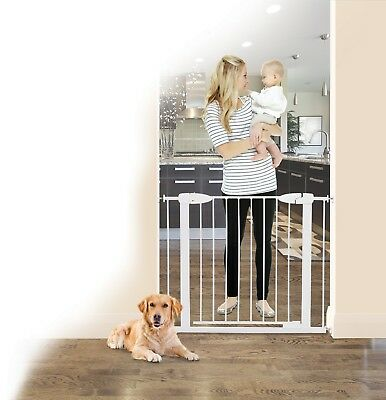 DREAMBABY® Boston Magnetic Auto-Close Security Gate