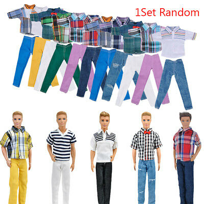 Handmade T shirt And Pants Clothes Outfit for 11inch  Boyfriend Ken Dolls