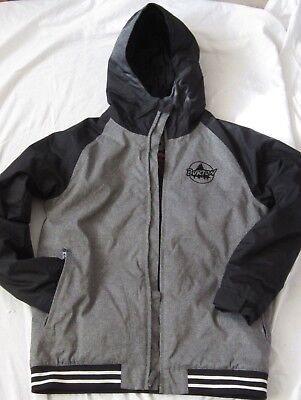 3bcc16cc5dcb BURTON SNOWBOARD JACKET - Red Grey Black - Small S - £50.00 ...
