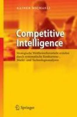 Michaeli, Rainer: Competitive Intelligence