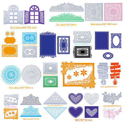 DIY Metal Cutting Dies Stencil Album Paper Card Embossing Scrapbooking DIY Craft
