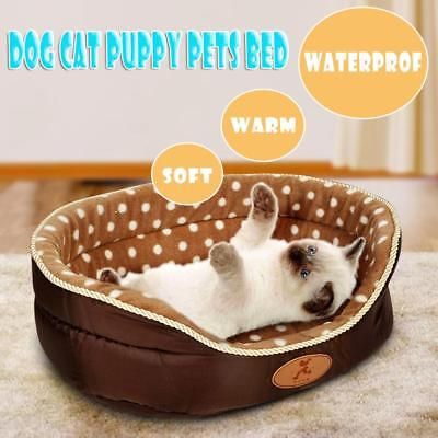 Extra Large Dog Cat Puppy Pets Bed Basket Mat House Waterproof Warm Soft Sofa