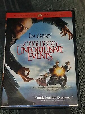😀 Lemony Snicket's a Series of Unfortunate Events (Widescreen Edition) DVD 😀