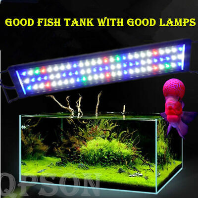 78LED Aquarium Light Full Spectrum Fish Tank Plant Marine For 65-70CM Fish Tank