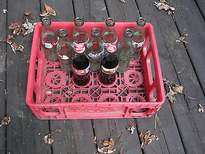 Vintage Red Coke Crate - Coca-Cola Collectible