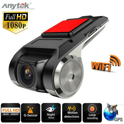 Anytek X28 1080P FHD Dash Cam Car DVR Camera Video Recorder WiFi ADAS G-sensor