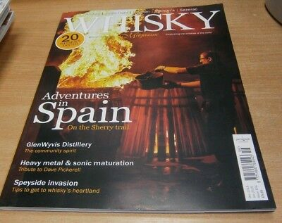 Whisky magazine DEC 2018/JAN 2019 Sherry in Spain, GlenWyvis, Dave Pickerell &