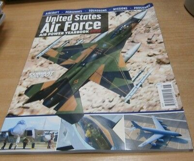 US United States Air Force Yearbook 2019 Aircraft, Personnel, Squadrons, Mission