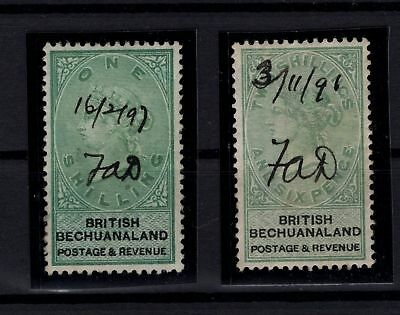 P99229/ Bechuanaland / Sg # 15 - 16 Obl / Used