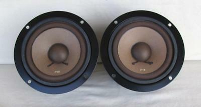 """Pair Of Pioneer Cs-88A 4"""" Midrange Speakers 12-701F Tested Excellent Fb Cone"""