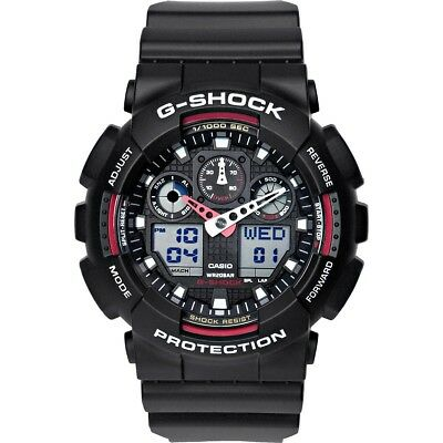 Casio G-Shock Watch Uhr GA-100-1A4ER Armbanduhr für Herren Neu New Original