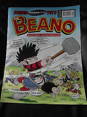 The Beano Comic Issue No 3247 9 October 2004