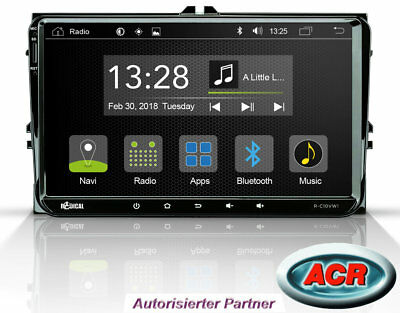 Android OS Radio für VW Seat Skoda Bluetooth Touchscreen USB Radical R-C10VW1