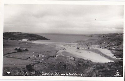 Vintage Achmelvich Youth Hostel And Bay Syha Postcard
