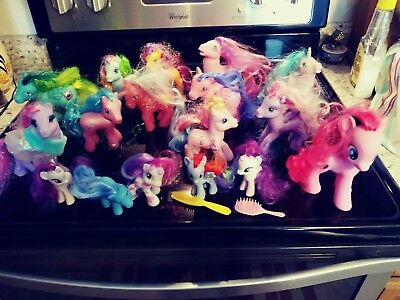 My Little Pony Hasbro large lot as ponies made in China