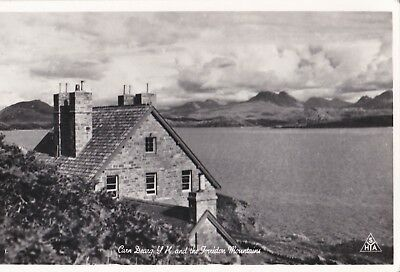 Vintage Carn Dearg Youth Hostel And The Torridon Mountains Syha Postcard