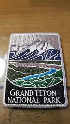 Grand Teton National Park Iron On Patch - NP Series