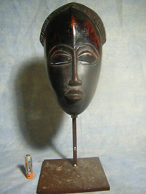 Masque Baoule  Statue Africaine African Mask Art Tribal Africain Ancien Afrique