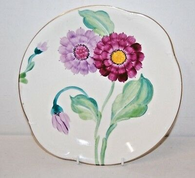 Grays Pottery Art Deco Handpainted Plate 1930's Hanley England