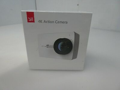 YI 4K Action and Sports Camera, 4K/30fps Video Black -NEW