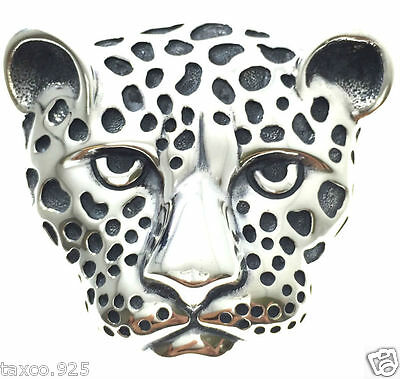 Molina Taxco Mexican 925 Sterling Silver Huge Jaguar Pendant Mexico