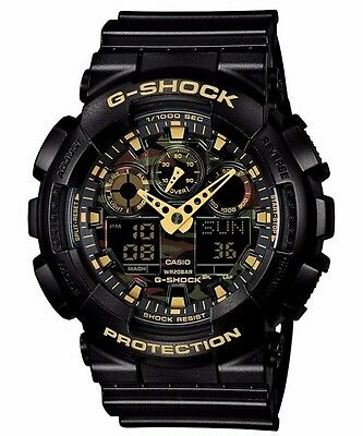 GA-100CF-1A9 Black Casio Men's Watch G-Shock Analog Digital Resin 200m New