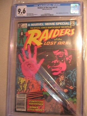 Raiders of the Lost Ark  1st Print CGC 9.6 Indiana Jones First Issue   item#cm43