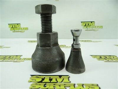 "Pair Of Machinists Screw Jacks 2-3/4"" To 5"" Heights"