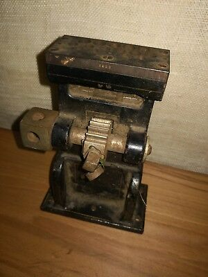 Vintage Antique Precision DENTAL SHELL MACHINE 1912 Dentistry Tools