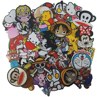 Wholesale Cartoon Anime Disney Superhero Character Sew Iron Embroidered on Patch