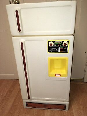 LITTLE TIKES TYKES Vintage Child Size Refrigerator Fridge ...