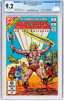 Masters of the Universe #1 (DC, 1982) CGC NM- 9.2, To Tempt The Gods!