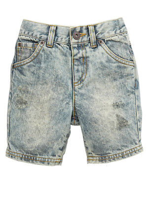 Mini V by Very Boys Denim Shorts in Grey Wash Size 4-5 Years