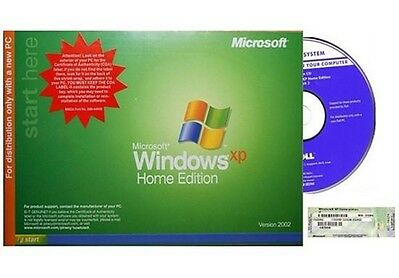 Microsoft  Windows XP Professional Version 2002, With Product Key