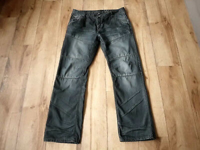 SAVVY Denim ° Jeans ° Mod. Worker ° W38/L34 ° dunkelblau ° Used-Look ° Buttonfly