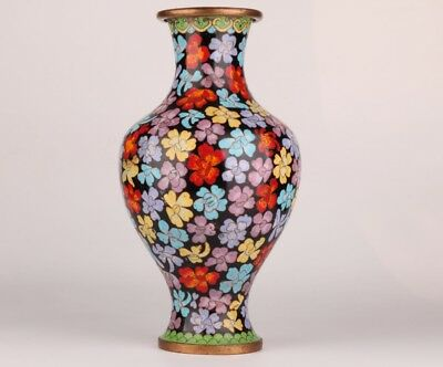 Antique Chinese Cloisonne Enamel Vases And Jars Handmade Home Decoration Gift